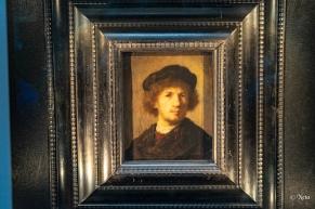 Rembrandt självporträtt
