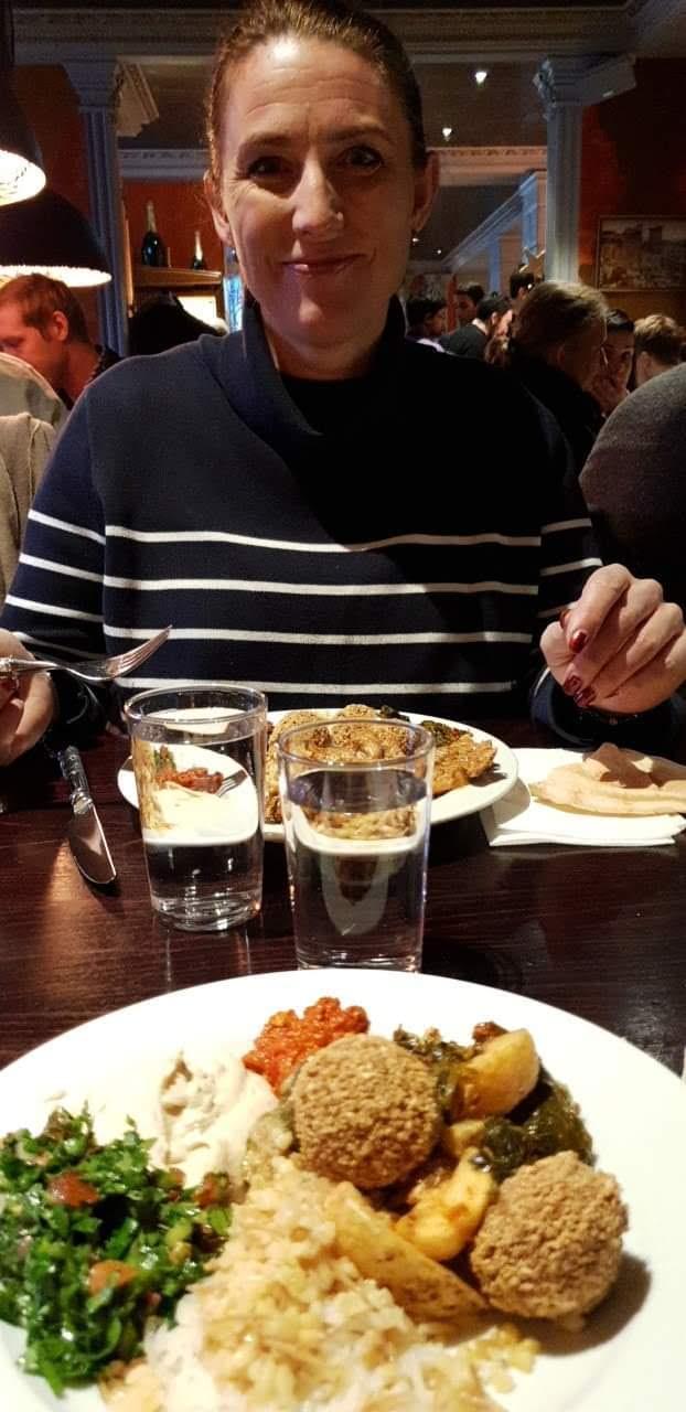 Lunchen på Lebanon Meza Lounge